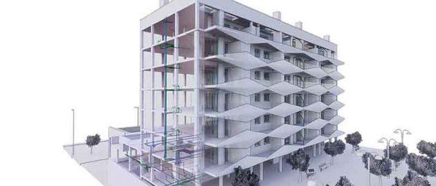 Residential complex Badalona, Barcelona